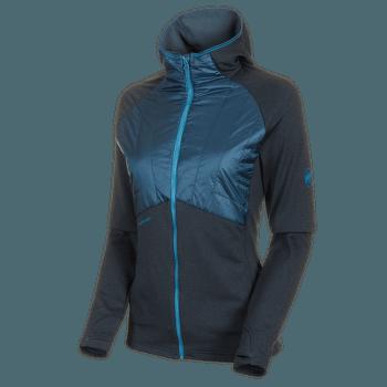 Aconcagua Light Hybrid ML Hooded Jacket Women wing teal 50227