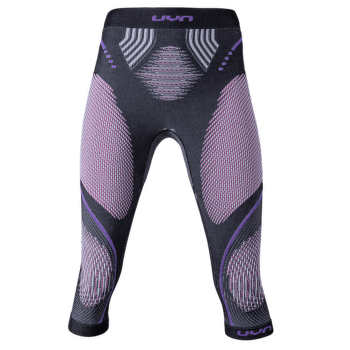 Evolutyon UW Pants Medium Melange Women Anthracite Melange/Raspberry/Purple