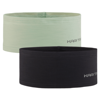 Nora Headband 2PK BLACK