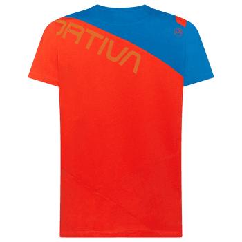 Float T-Shirt Men Poppy/Neptune