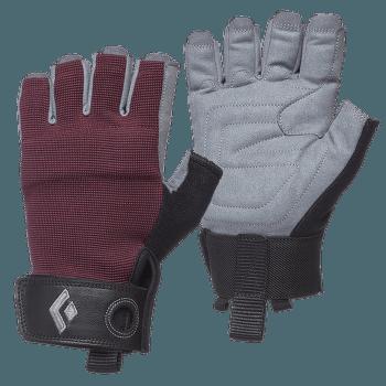 Crag Half-Finger Gloves Women Bordeaux