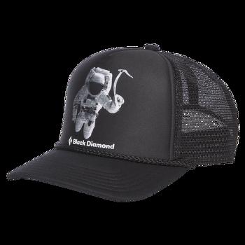Flat Bill Trucker Hat Spaceshot Print