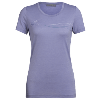 Tech Lite SS Low Crewe Cadence Paths Women Orchid