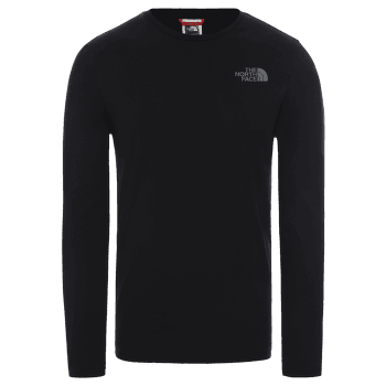 Easy Tee L/S Men BLACK/ZINC GREY