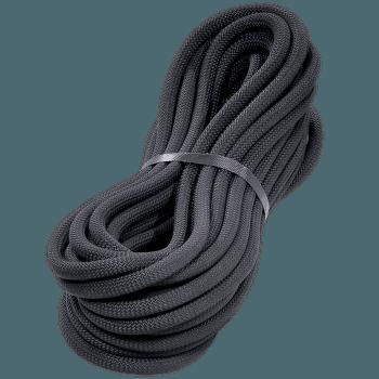 Statické lano 10 černá 008