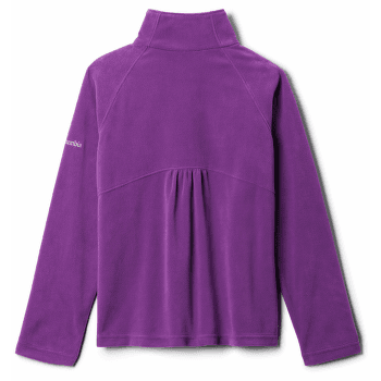 GLACIAL™ Fleece Half Zip Girls Plum 575