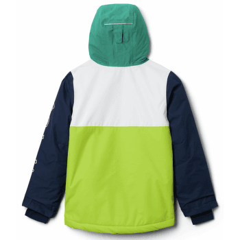 TIMBER TURNER™ Jacket Boys White, Brt Chrtrse, Coll Navy, Emerald G 100
