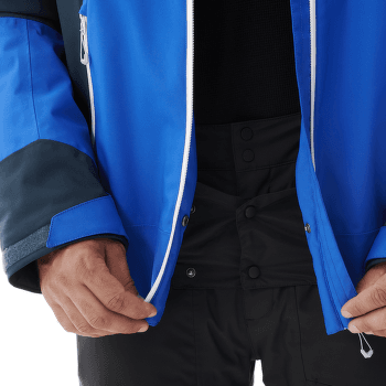 Alagna Stretch Jacket Men WILD LIME/ORION BLUE