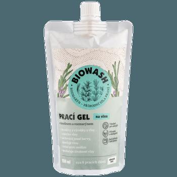 Prací gel na vlnu s lanolínem a rozmarýnem