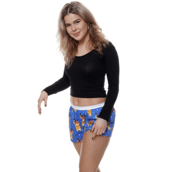 Boxerky FALLOW DEER Modrá