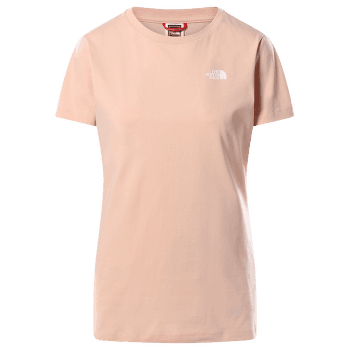 Simple Dome S/S Tee Women Evening Sand Pink