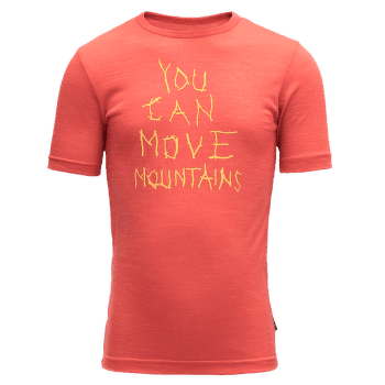 Moving Mountain Tee Kid Cayenne