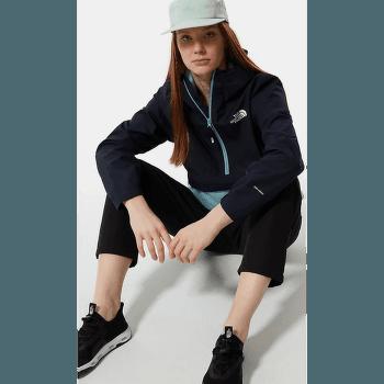 Waterproof Fanorak Women Aviator Navy-Tourmaline Blue