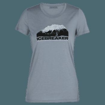 Tech Lite SS Low Crewe Icebreaker Mountain Women GRAVEL
