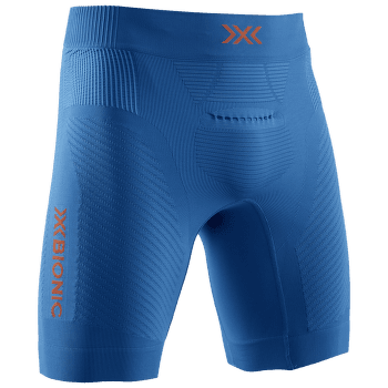 Regulator Run Speed Shorts Men TEAL BLUE/KURKUMA ORANGE