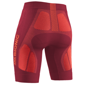 The Trick G2 Run Shorts Women DARK RUBY/KURKUMA ORANGE