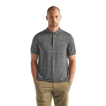 Flaxen SS Polo Sweater Men Black