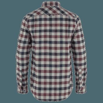 Skog Shirt Men Dark Garnet-Fog