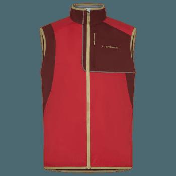 Latitude Vest Men Tango Red/Spice