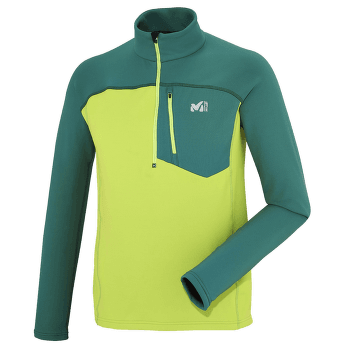 Technostretch Zip Men ACID GREEN/JASPER