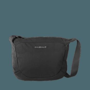 Shoulder Bag Round 4 black 0001