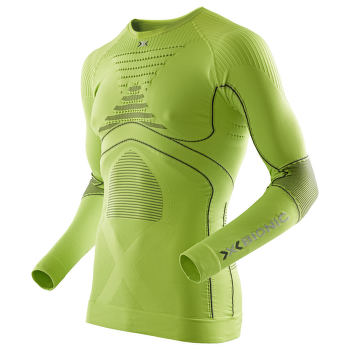 Accumulator Evo LS Round Neck Man GreenLime/Charcoal