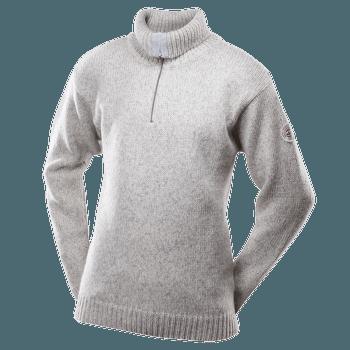 Nansen Sweater Zip Neck Men 770 GREY MELANGE