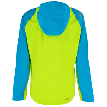 Zagros Gtx Jacket Men Tropic Blue/Apple Green