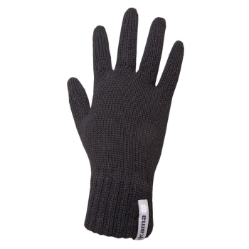 Knitted Gloves R102 black 110