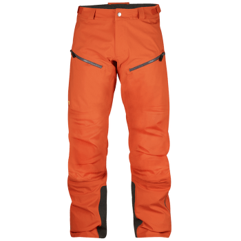 Bergtagen Eco-Shell Trousers Men Hokkaido Orange