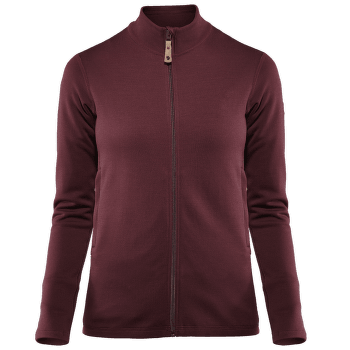 Keb Wool Sweater Women Dark Garnet