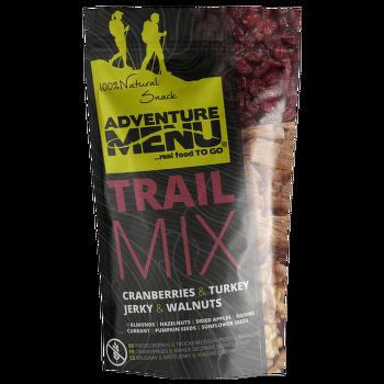 Trail mix krůtí maso, vlašské ořechy, brusinky 100 g