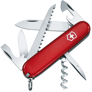 Swiss Army Knife Camper Red