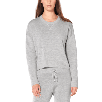 Carrigan Reversible Sweater Sweatshirt Women STEEL HTHR