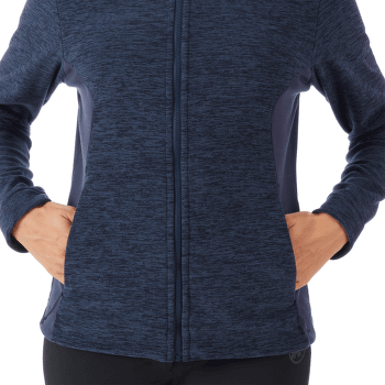 Yadkin ML Hooded Jacket Women peacoat melange-peacoat