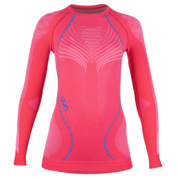 Ambityon UW Shirt LS Women Geranium/Pearl Grey/Atlantic