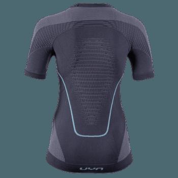 Evolutyon UW Shirt SS Women Charcoal/Anthracite/Aqua