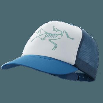 Bird Trucker Hat Cobalt Sun/Delos Grey