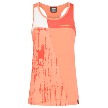 Chemistry Tank Women Flamingo/White