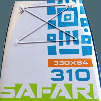 Safari 310 FT Zeleno - modrá