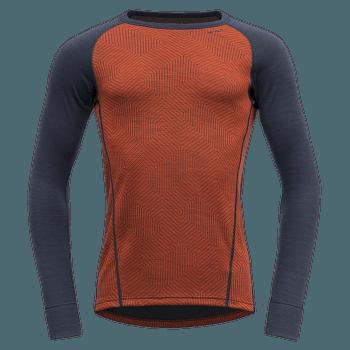Duo Active Shirt Men (232-224) 087B BRICK/INK