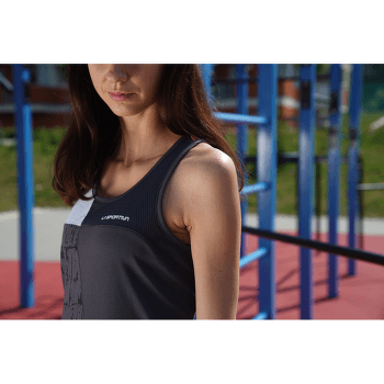Chemistry Tank Women Carbon/White