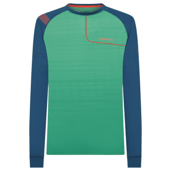 Tour Long Sleeve Men Grass Green/Opal