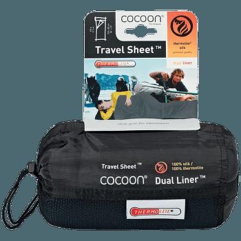Dual Liner TravelSheet ultramarine blue/tuareg
