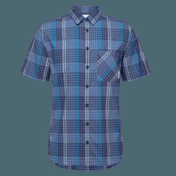 Calanca Shirt Men peacoat-horizon 50322