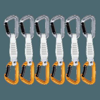 Sender Keylock 6 Pack Quickdraws 12 cm Light Grey-Gold 33272