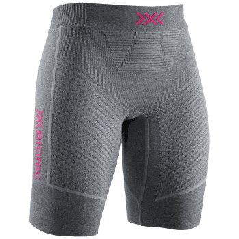 Regulator Run Speed Shorts Women DOLOMITE GREY MELANGE/NEON FLAMINGO