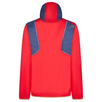 Zeal Jacket Men Night Blue/Tango Red