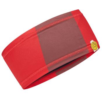 Diagonal Headband Tango Red/Spice