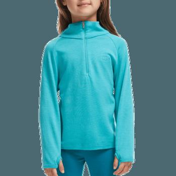 Compass LS Half Zip Girl Aquamarine/Alpine